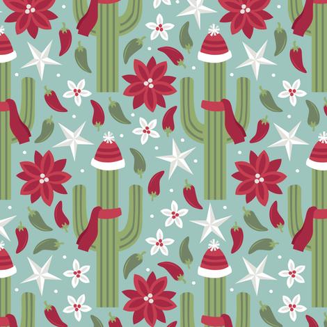 Southwest Holidays fabric by robyriker on Spoonflower - custom fabric