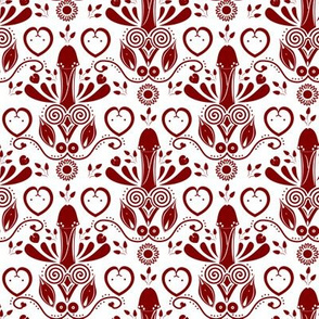 NSFW Folk Art red