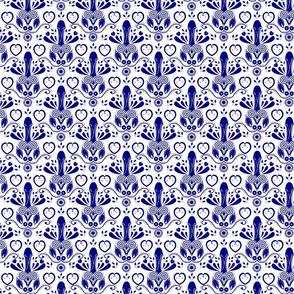 NSFW Folk Art blue