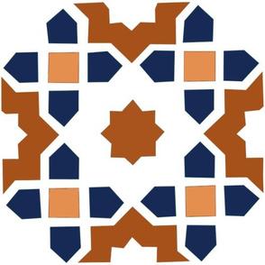 Moroccan tile maxi