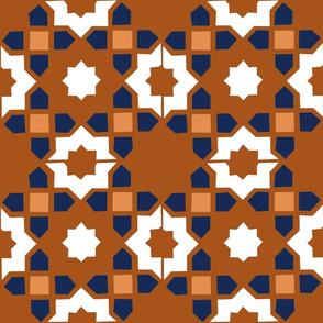 Moroccan mural terrac