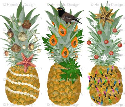 Pineapple Holiday Tree