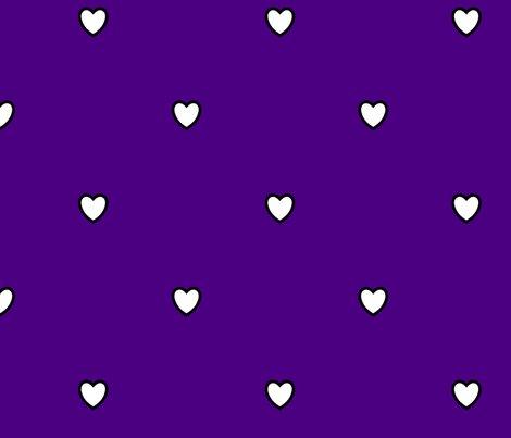 White-black-color-love-heart-indigo-blue-purple-color-background-polka-dot-pattern_shop_preview