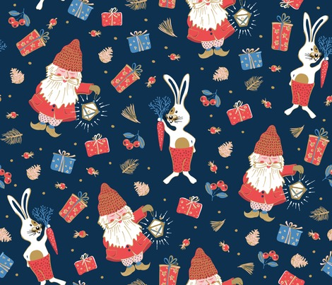 Rholidays-with-gnomes-and-rabbits_contest222562preview