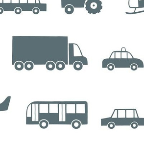 Vehicles gray