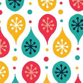 Folk Art Festive Pattern - Bright Multi