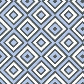 Geometric Diamonds Pattern