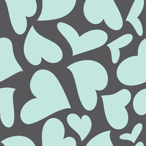 Silhouette - XsOs_BlueWithGrayBG_HandDrawnHearts_Silhouette_seaml_stock