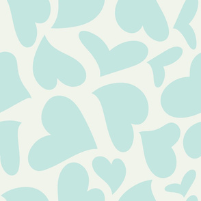 Silhouette - XsOs_BlueWithOffWhtBG_HandDrawnHearts_Silhouette_seaml_stock