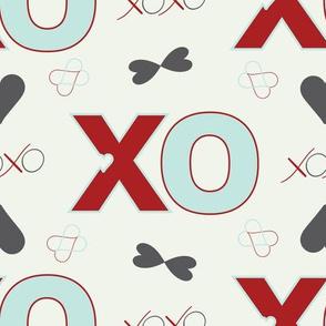 XsOs_OffWhiteRedLtBlueWithOffWhtBG_BigXO_1_seaml_Stock