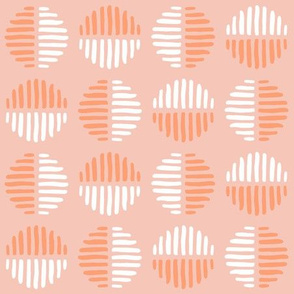 Abstract Spots - Pink & Coral
