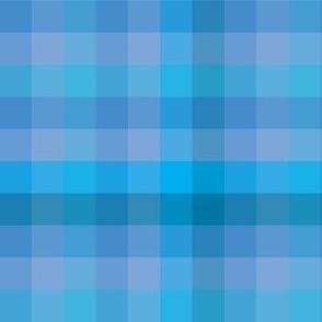 Check / Plaid - Light Blue