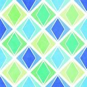 Layered Diamonds Geometric Pattern