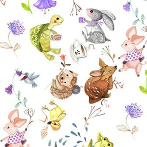 Hare-and-tortoise lavender