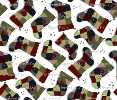Granny's Patchwork  Stockings