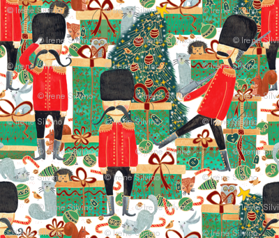 Pattern #100 - Guarding the gifts under the Christmas tree