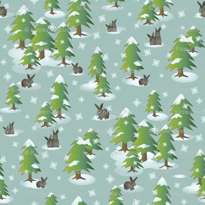 Winter Bunnies