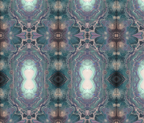 Dreams in violet fabric by blinx_art on Spoonflower - custom fabric
