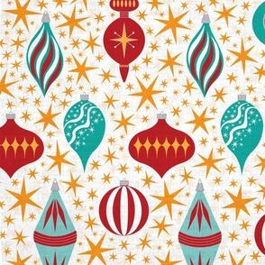 Retro Christmas Tree Ornaments