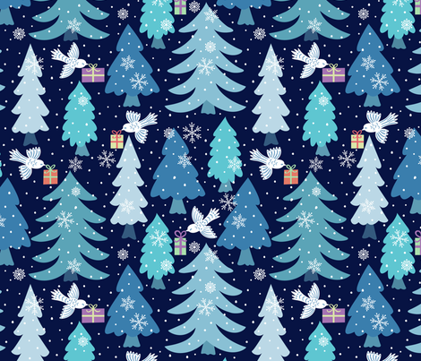 Special-Delivery fabric by jennifer_holbrook on Spoonflower - custom fabric