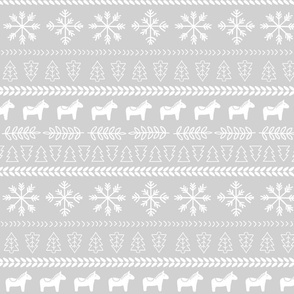 Scandinavian Christmas in Grey