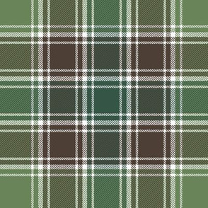 "MacDonald hunting tartan, 8"" ancient"