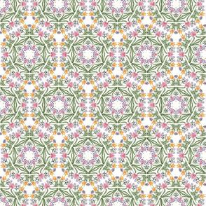Spring Floral Kaleidoscope