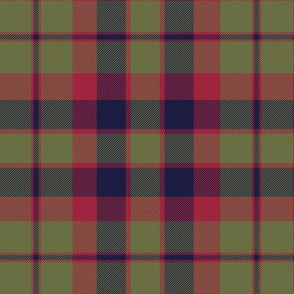 "City of Glasgow tartan, 6"" muted (Wilson's 1790)"