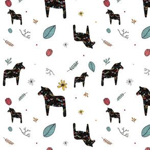 DALA HORSES black