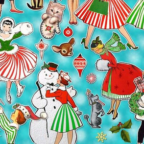 Pinup Christmas Traditions