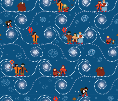Christmas_Ukraine fabric by savchuknata on Spoonflower - custom fabric
