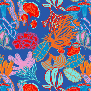 Coral tree blue