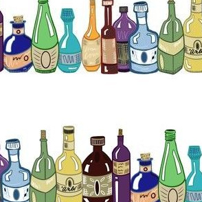 Elixir Top Shelf Bottles