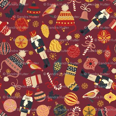 Retro Christmas Ornaments