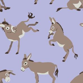 Haulin' Ass (Purple)--Medium