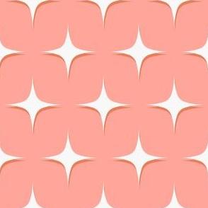Mid century modern atomic pink