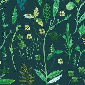 Ambrosia Greenery (teal)