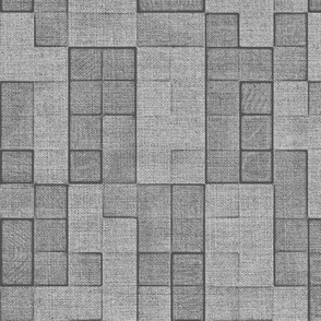 Grey Canvas Squares