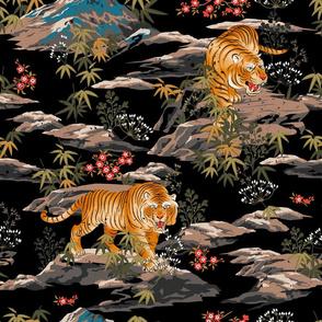 Japanese Tiger Floral