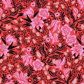 Jolie Floral - Red