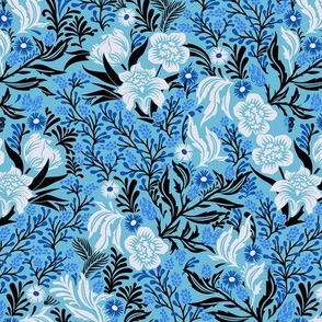 Jolie Floral - Azure