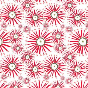 eucalypt large blossom christmas wrap