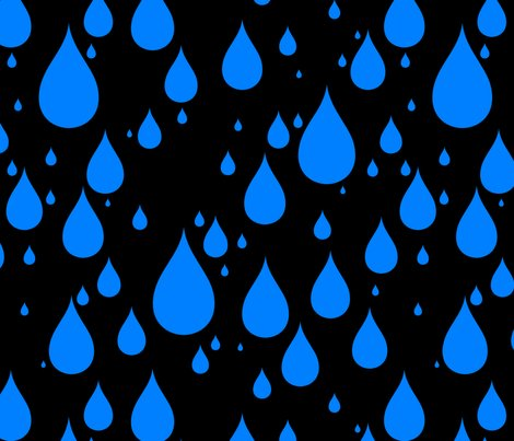 Black-background-azure-blue-color-rainy-day-waterdrops_shop_preview