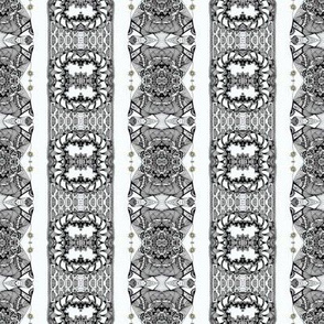Whimsy Palace Boulevard Vertical Stripes