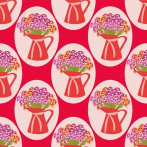 vases dianthus
