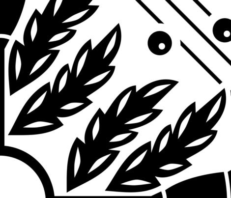 Scottish Thistle fabric by amy_maccready on Spoonflower - custom fabric