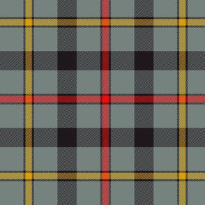 "MacCrimmon tartan, 6"" weathered"