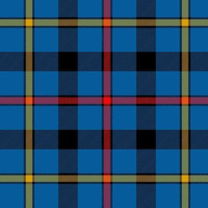 "MacCrimmon tartan, 6"" modern"