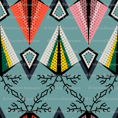 Indienne Small Pattern2
