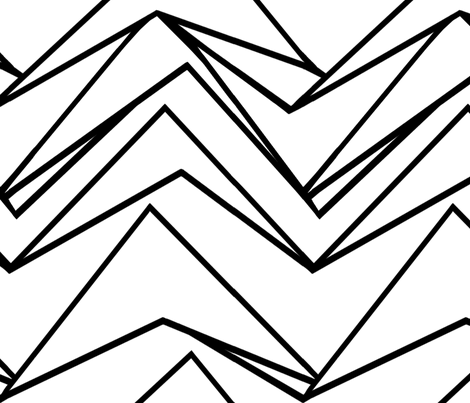 White Mountain fabric by tailofthedog on Spoonflower - custom fabric
